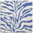 rug #171985 | square blue rug