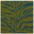 rug #172005 | square green animal rug