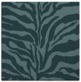 rug #172017   square blue-green animal rug