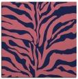 rug #172037   square pink animal rug
