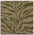 rug #172065 | square brown animal rug