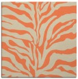 rug #172141 | square orange animal rug