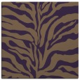 rug #172177 | square purple animal rug