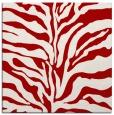 rug #172185 | square red popular rug
