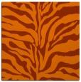 rug #172201 | square red-orange animal rug