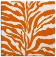 rug #172213 | square red-orange animal rug