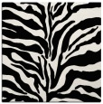 rug #172217 | square white stripes rug