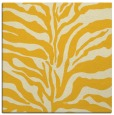 rug #172233 | square yellow popular rug