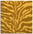 rug #172249 | square yellow animal rug