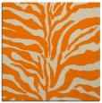 rug #172261 | square orange animal rug