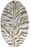 rug #172298 | oval animal rug