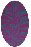 rug #172361 | oval stripes rug