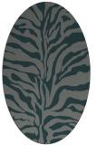 rug #172426   oval stripes rug