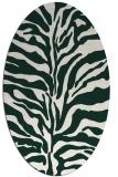 rug #172432   oval stripes rug