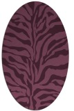 rug #172460 | oval stripes rug