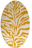 rug #172633 | oval light-orange popular rug