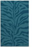 rug #172697 |  blue-green stripes rug