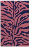 rug #172741 |  blue-violet animal rug