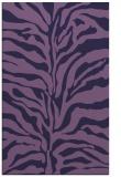 rug #172745 |  blue-violet animal rug
