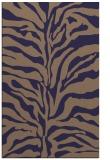 rug #172757 |  blue-violet animal rug