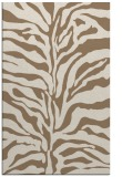 rug #172801 |  mid-brown stripes rug