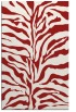 rug #172897 |  red stripes rug