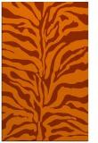 rug #172905 |  red-orange animal rug