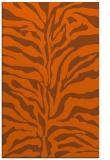rug #172913 |  red-orange animal rug