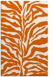 rug #172917 |  red-orange animal rug