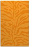 rug #172993    light-orange animal rug