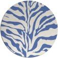 rug #173041   round blue rug