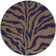 rug #173109 | round beige animal rug