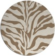 rug #173153 | round mid-brown popular rug