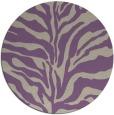 rug #173181 | round beige animal rug