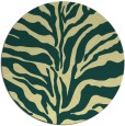 rug #173205 | round yellow animal rug
