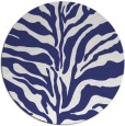 rug #173281 | round blue animal rug