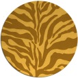 rug #173305 | round light-orange animal rug
