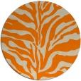 rug #173317 | round beige animal rug