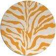 rug #173349 | round white stripes rug