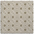 rug #173705 | square white check rug