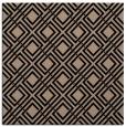 rug #173717 | square black retro rug