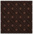 rug #173721 | square black check rug