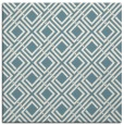 rug #173729 | square white check rug