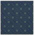 rug #173737 | square blue check rug