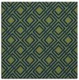 rug #173741   square green check rug