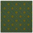 rug #173765   square green rug