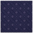 rug #173789 | square blue-violet retro rug