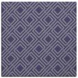 rug #173793   square blue-violet check rug