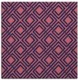rug #173797   square pink check rug