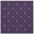 rug #173801 | square blue-violet retro rug